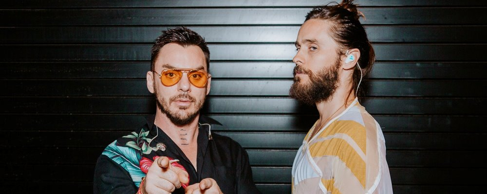 Thirty Seconds To Mars regresa a Chile   Martes 2 de octubre, Movistar Arena